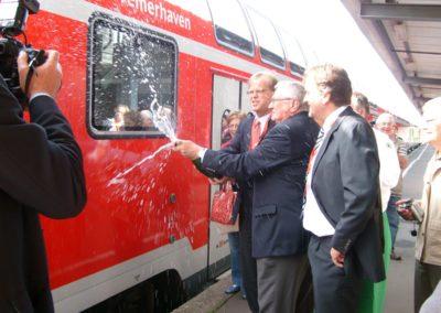 Zugtaufe, 23. Juli 2008
